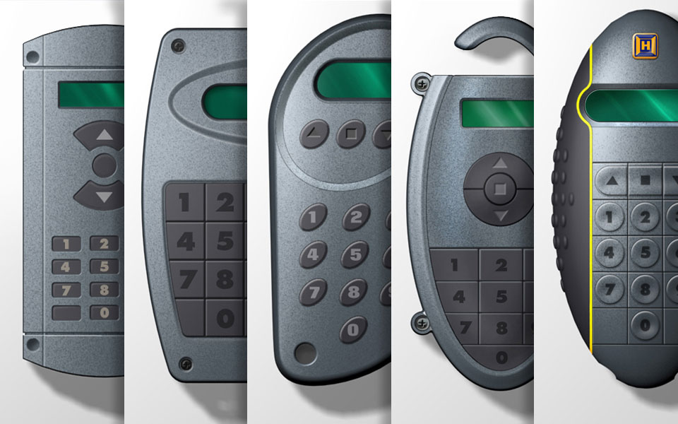Industry roller door remotes for Hoermann